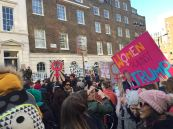 Women's March in London, 2017