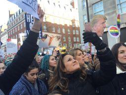 Women's March in London, 2017