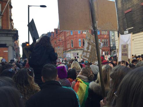 Women's March, London 2017