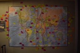 Send a Postcard to the World, Brookes University SU Sqaure
